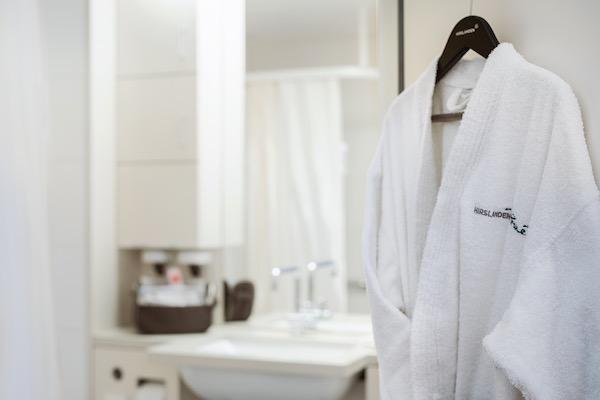 Dusche in Klinik